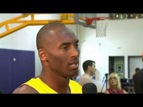 Kobe Bryant Discusses Recovery from Injury
