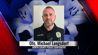 Press conference after North St Louis County officer shot Sunday