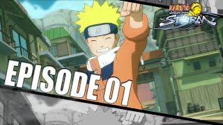 Naruto Ultimate Ninja Storm - Let's Play (FR) | Episode 1 : Le Pire Ninja Débarque !