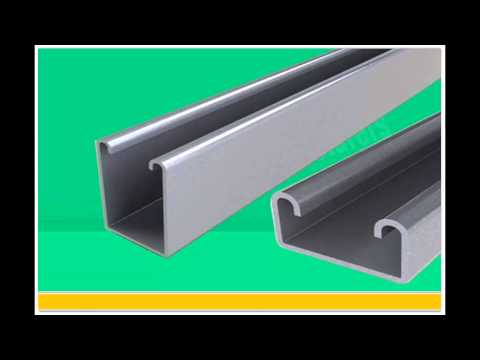 unistrut channel brackets wwwstrutnfittingscom youtube