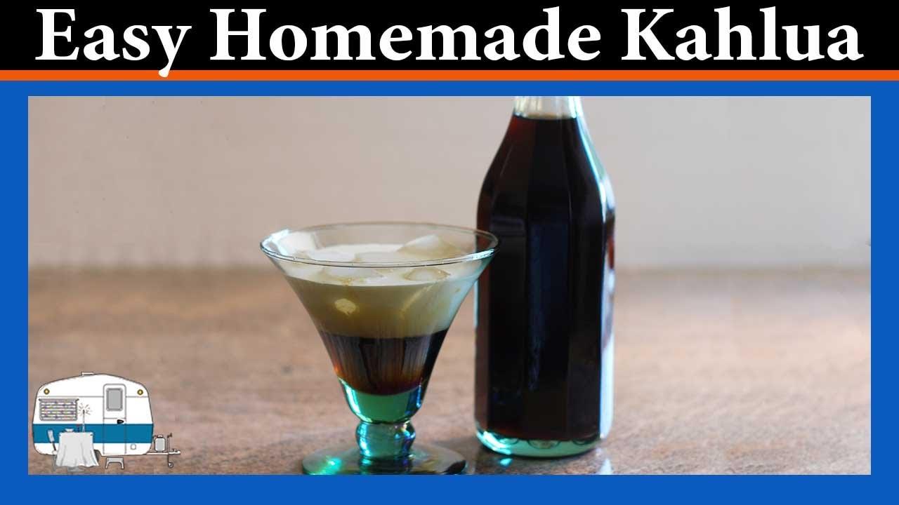 How to make Kahlua coffee liqueur at home