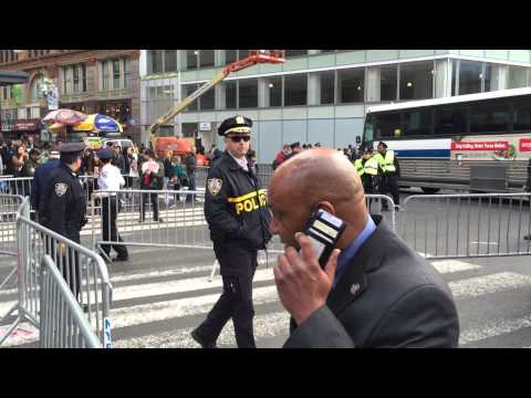 HIGH RANKING NYPD BRASS, OFFICERS & DETECTIVES MOBILIZING TO