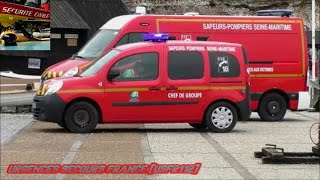 VEHICULE CHEF DE GROUPE SAPEURS POMPIERS / FIREFIGHTERS TEAM CHIEF VEHICLE SDIS 76-ETRETAT 76)