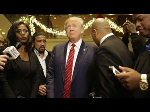 Can Donald Trump sway African-American voters?