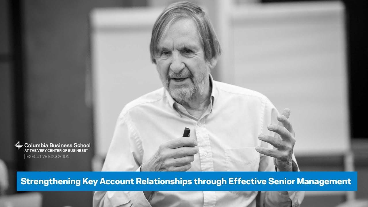 Strengthening Key Account Relationships through Effective Senior Management