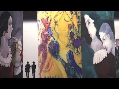 """""""Chagall. Sogno di una notte d'estate"""" - Una mostra-spettacolo celebra il grande pittore"""