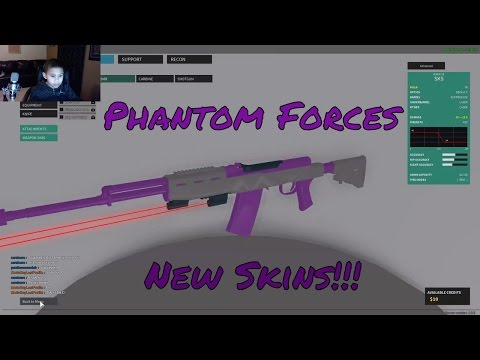 Roblox  / New Skins / Phantom Forces [OFFICIAL RELEASE] Update