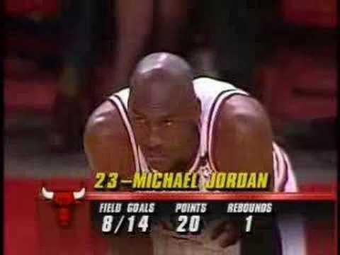Michael Jordan - 1992 NBA Finals Game 1 - 39 Points