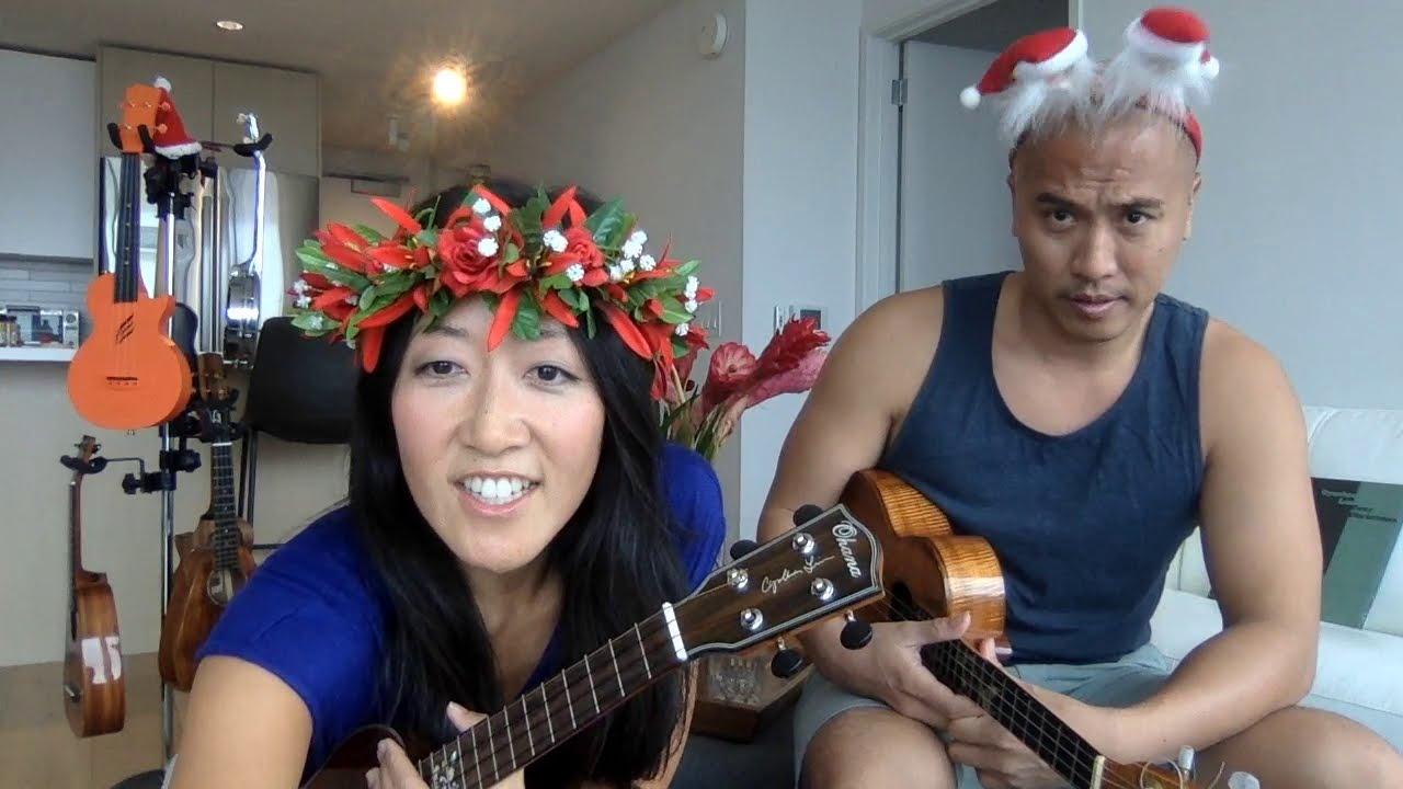 Cynthia Lin Christmas Jam 2020 Youtube Cynthia's Holiday Aloha Livestream   YouTube