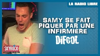 Samy se fait piquer par une infirmière #LaRadioLibre