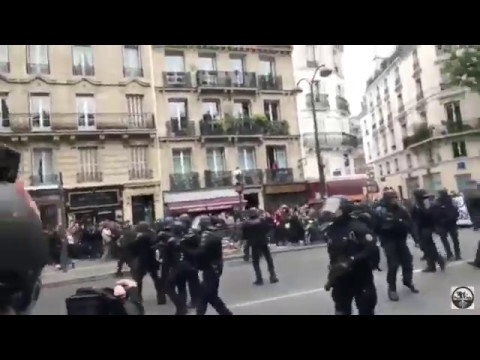 BREAKING!!! MASS RIOTS IN PARIS AFTER MACRON ELECTION!!!