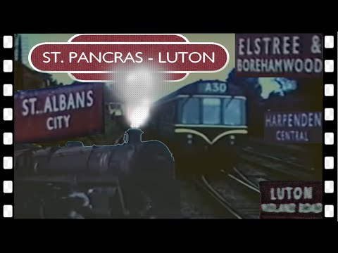 1960 D.M.U. RIDE: St. PANCRAS to LUTON
