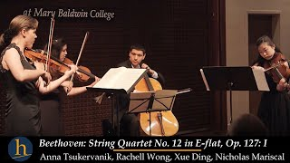 Heifetz 2015:  Beethoven String Quartet No. 12 in E-flat, Op. 127