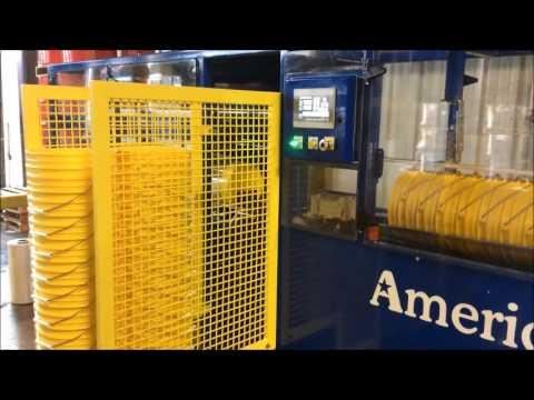 American Automation 5 Gallon Pail De-Nester