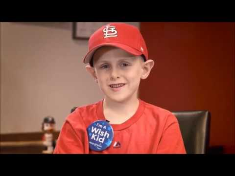 Milo's Wish to Play Ball w/ Carlos Martinez of St  Louis Cardinals | Make-A-Wish Missouri & Kansas