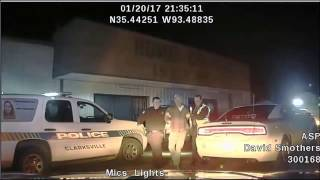 Arkansas Judge Runs Through Sobreity Checkpoint - Arrested for DWI