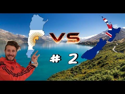 Argentina vs Nueva Zelanda #2 LA COMIDA
