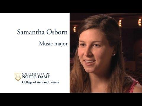 Music Student Profile: Samantha Osborn