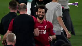 UCL Moment: Wild scenes as Liverpool win their sixth European trophy