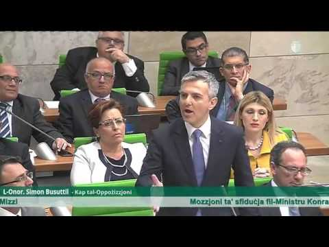 Malta government corruption: Opposition leader speaks about Energy Minister Konrad Mizzi