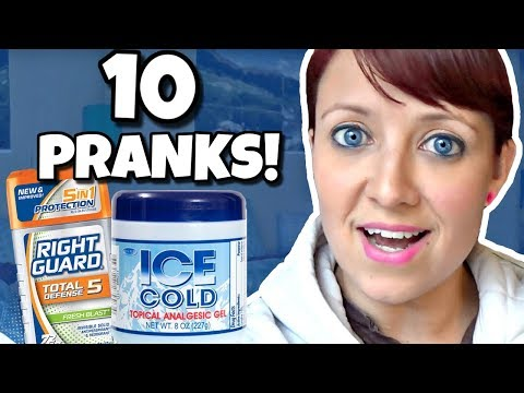 10 OF THE BEST PRANKS YOU CAN DO!