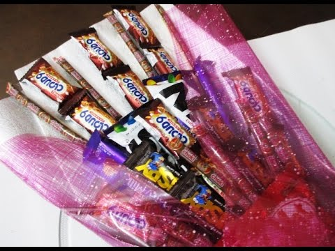 DIY : #181 BIG Chocolate Bouquet ❤