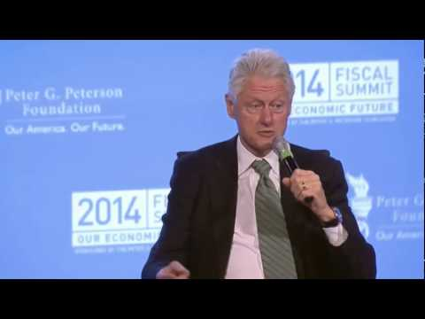 Bill Clinton Claims Not A Single Institution Failed Because Of Glass- Steagall Repeal