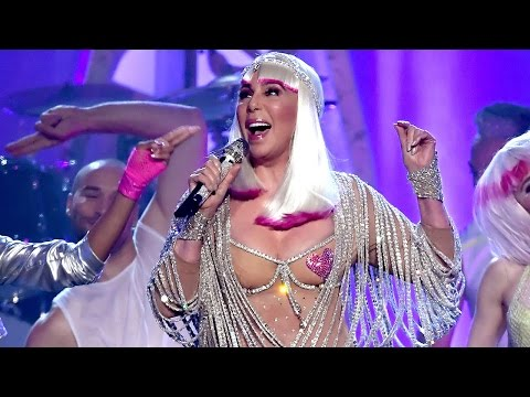 Cher Accepts Icon Award & SHINES During Performance At 2017 Billboard Awards