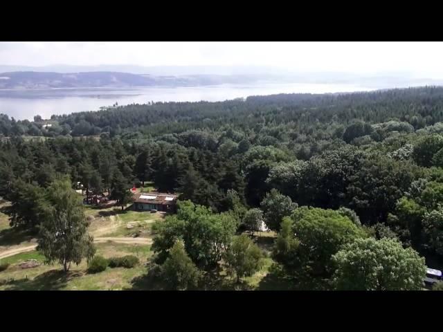 Langogne et Le Grand Lac de Naussac