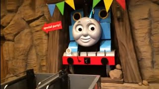 giant thomas n friends trains percy gordon james spencer harvey oliver at thomas land ride
