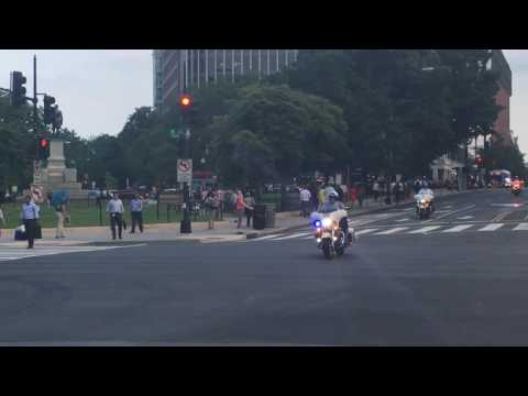 Lights, Sirens, POTUS Motorcade Washington DC