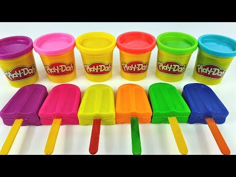 Learn Colors with Ice Cream out of  Play Doh | Making Animals | Learn Numbers | Video for Kids