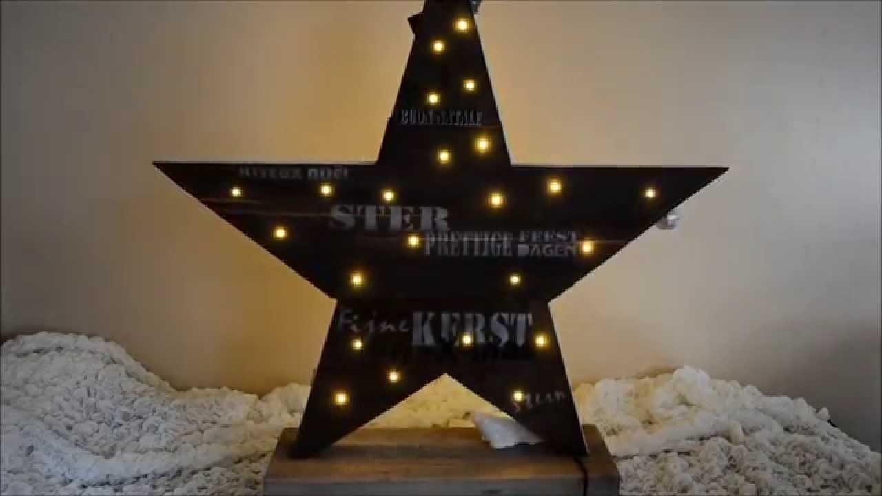 De Stormpjes maken het zo ! kerst ster steigerhout pallethout ...