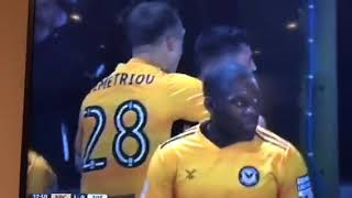Video Gol Pertandingan Newport County vs Tottenham Hotspur