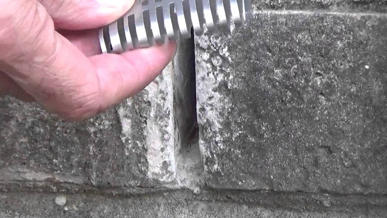Keep Mice Out Of Your Brick Home With Rid O Mice Weep Hole