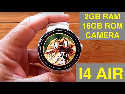 IQI I4 AIR Android 5.1 2GBRAM/16GBROM Smartwatch: Unboxing & Review