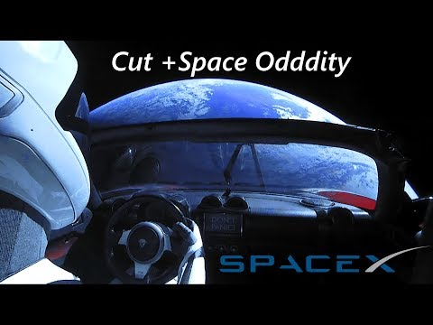 ► There Is A Starman | Falcon Heavy Starman views cut to Space Oddity (4000% Speed)