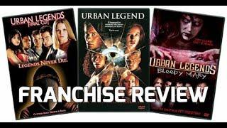 Franchise Review: Urban Legend; Urban Legends Final Cut; Urban Legends Bloody Mary