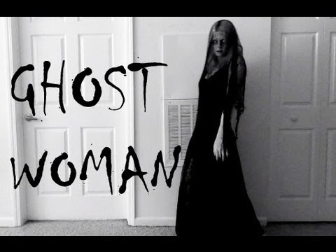 & GHOST WOMAN HALLOWEEN TUTORIAL - YouTube