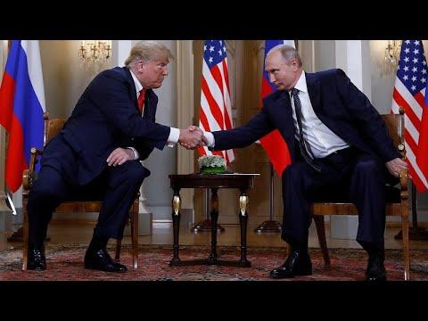 ترامب يقول إن لقاءه مع بوتين بداية جيدة  - نشر قبل 11 دقيقة