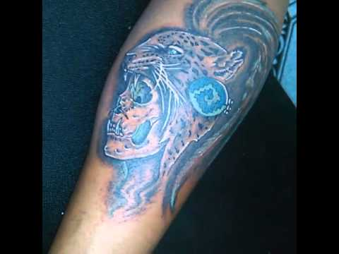 Peposk Tattoo Guerrero Jaguar Youtube