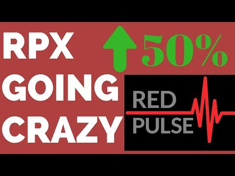 RPX UP 50% in 2 DAYS! Red Pulse Price Prediction 2018 - RPX Coin Review