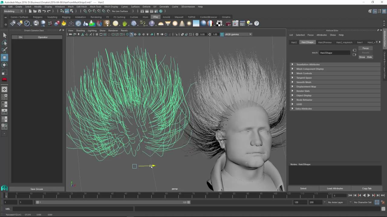 Exporting Hair to Alembic