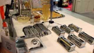 Marcato Atlas 150 + Pastadrive - механизация ручной лапшерезки (пошаговый видео рецепт-инструкция)