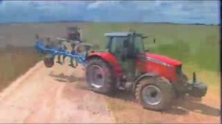 Ciągniki, traktory rolnicze Massey Ferguson seria 6400 Dyna6 i 7400 DynaVT, traktor, ciągnik MF