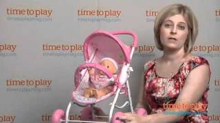 Fisher-Price Little Mommy Baby So New Doll & Stroller from Tollytots