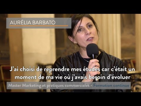 [ITW Diplômé] Aurélia Barbato - Master Marketing - Formation Continue