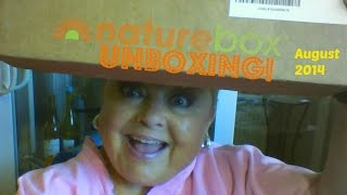 UNBOXING: Nature Box - August 2014 Thumbnail