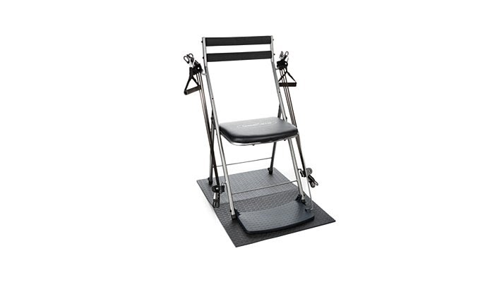chair gym deluxe black