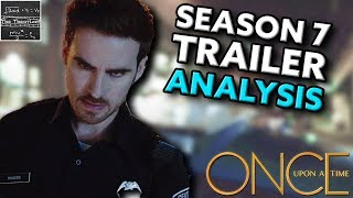 Once Upon a Time Season 7 Comic-Con Trailer ANALYSIS! [Theory]